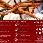 Programação da semana Santa – transmissões Ao Vivo