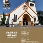 Horários das Santas Missas presenciais